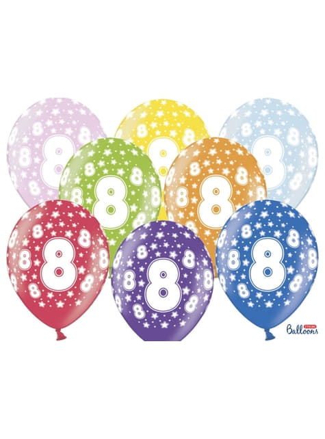 50 Luftballons aus Latex