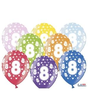 50 globos de látex