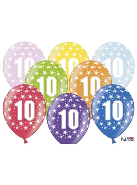 10 palloncini di latex