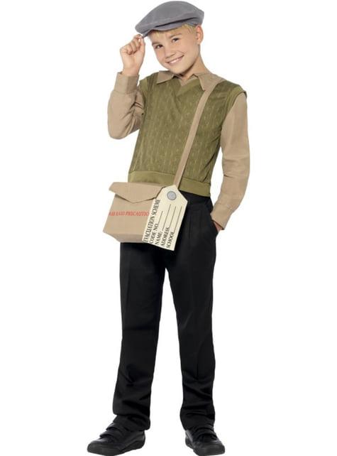 Disfraz de niño de los años 40