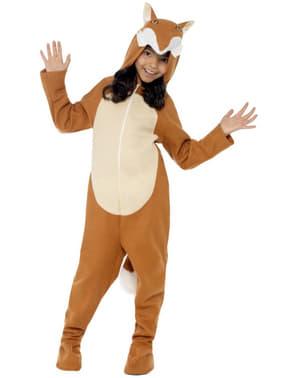 Costume da volpe bambina