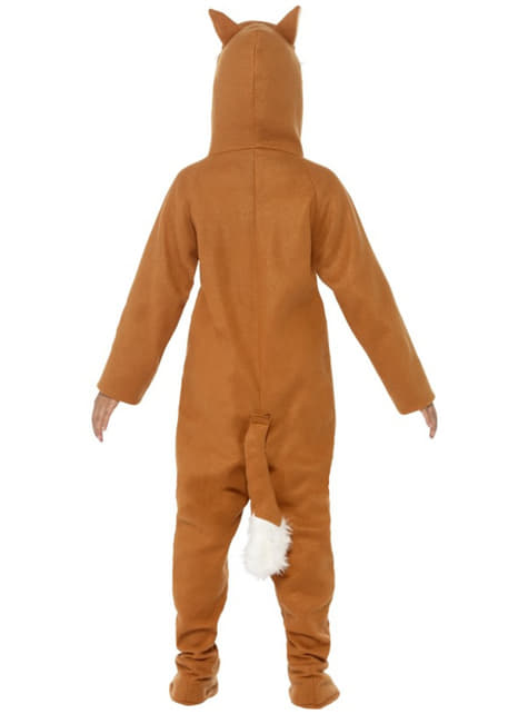 Disfraz de zorro para niña