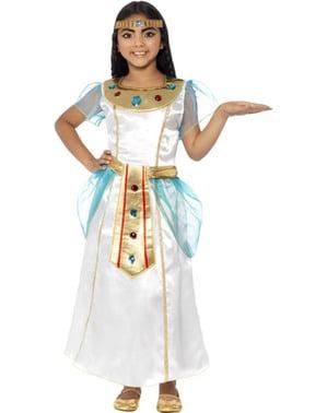 Fato de Cleópatra adorável para menina