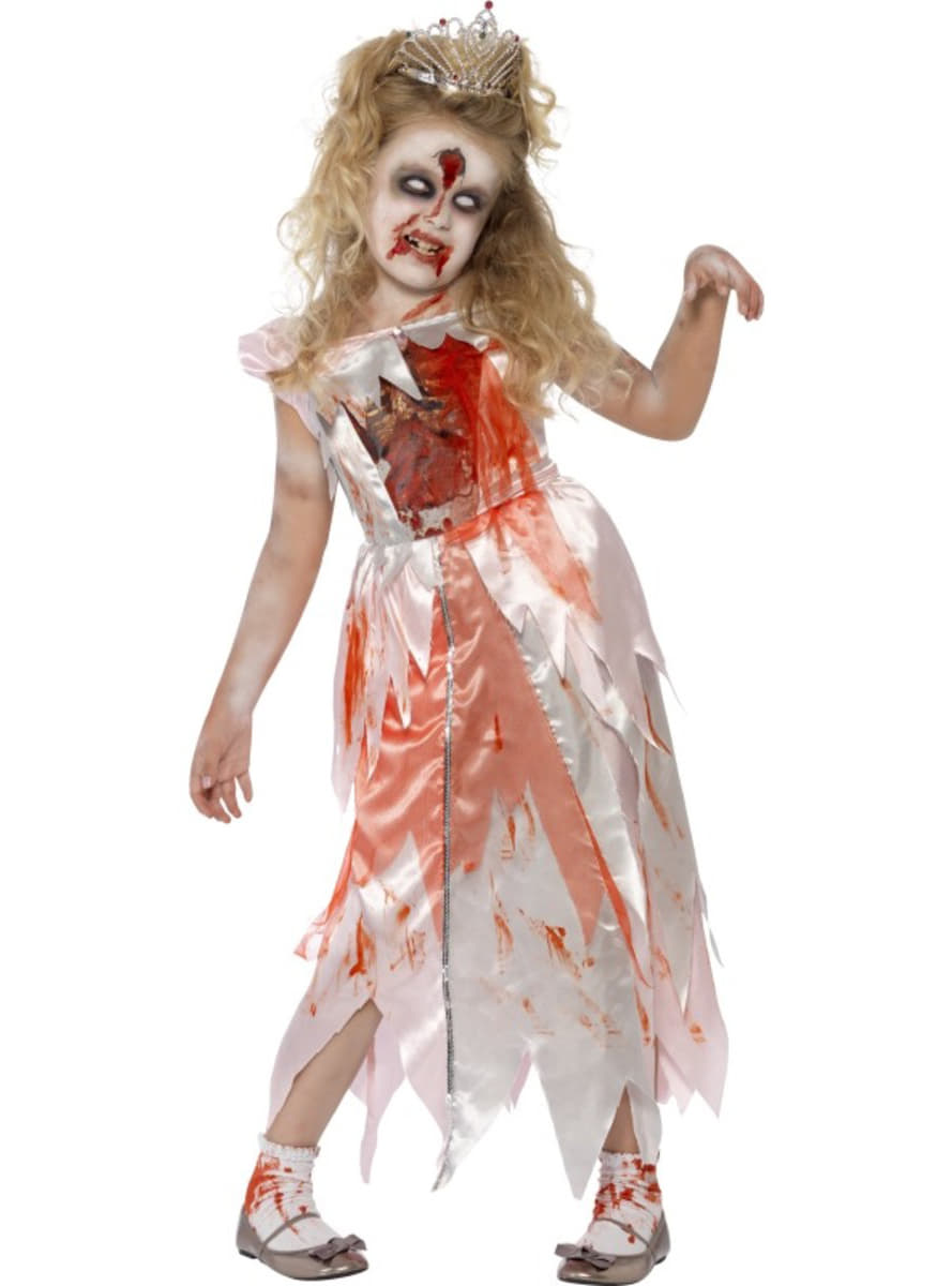 Zombie Dornröschen Kostüm für Mädchen | Funidelia