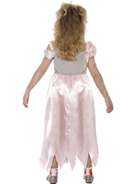 Disfraz de princesa zombie para niña - niña