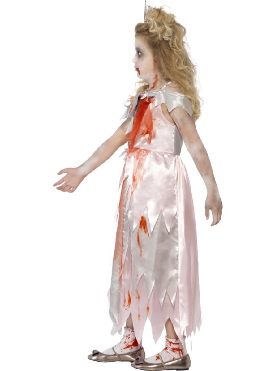 Disfraz de princesa zombie para nia Funidelia
