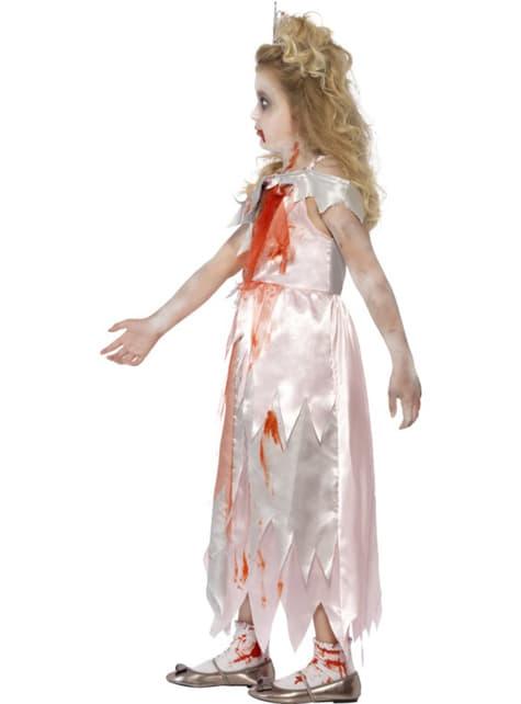 Disfraz de princesa zombie para niña - original