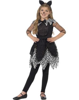 Costume da gattina glamour bambina