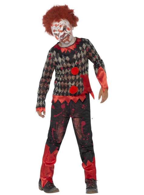Disfraz de muñeco diabólico zombie para niño