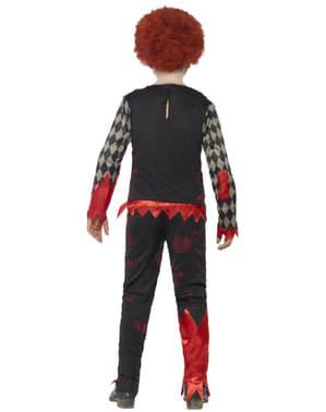 Zombie Clown Kostüm für Jungen