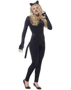Forførende kat kostume til kvinder