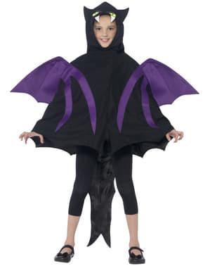 Costume da pipistrello deluxe bambino