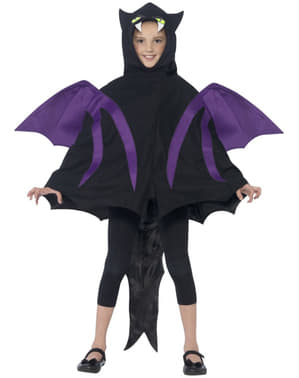 Fledermaus Kostüm für Jungen deluxe