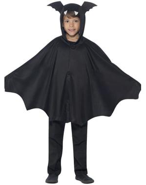 Capa de morcego infantil