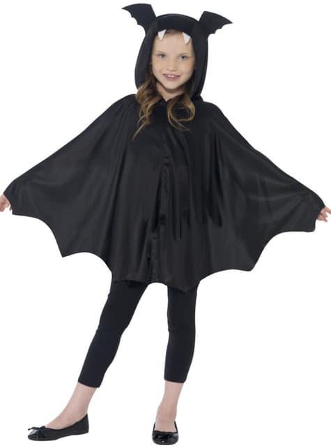 Capa de murciélago infantil - para tu disfraz