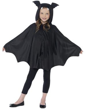 Capa de murciélago infantil