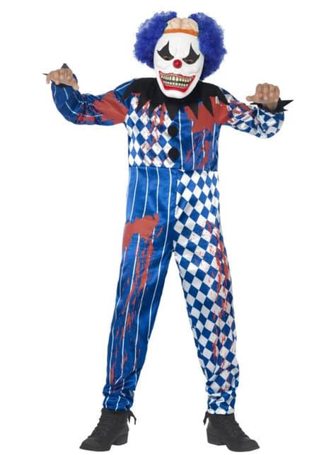 Chlapecký kostým ďábelský klaun