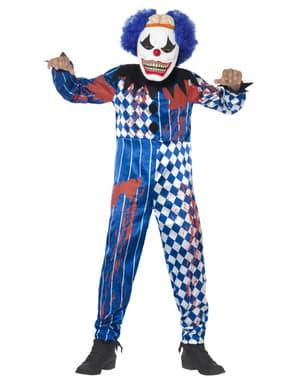 Costum de clovn sinistru pentru băiat