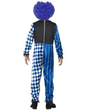 男の子用不気味なピエロ衣装