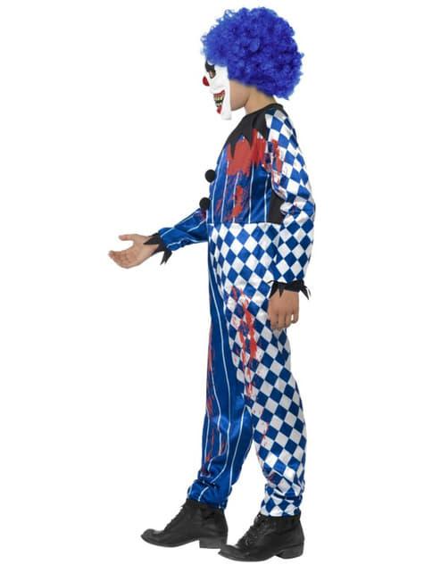Disfraz de payaso siniestro para niño - original