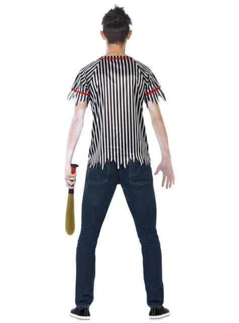 Disfraz de jugador de béisbol zombie para hombre - hombre