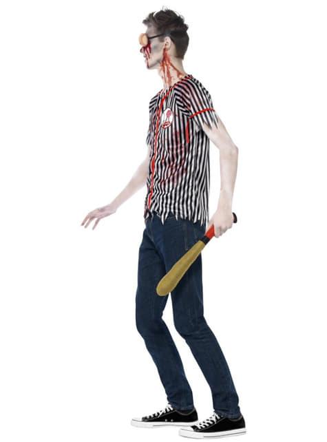 Disfraz de jugador de béisbol zombie para hombre - original