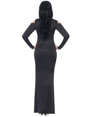 Dámské šaty s potiskem kostry nadměrná velikost