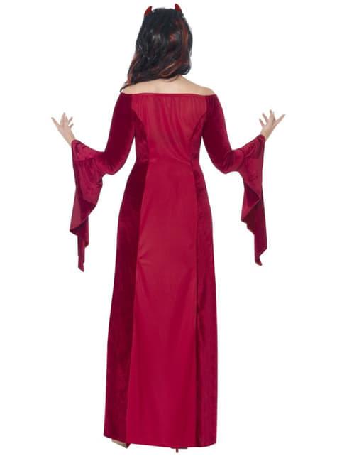Disfraz de sacerdotisa demoniaca para mujer talla grande - mujer