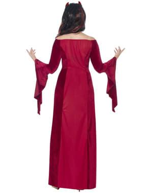 Moderne skrækindjagende dame plus size kostume til kvinder