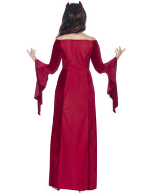 Női Plus Size Démon Papnő jelmez