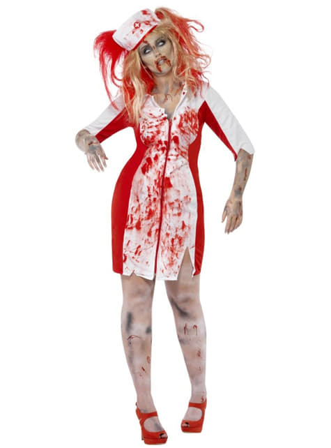 Костюм на кървавата зомби