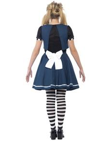 Dívčí kostým temná Alenka