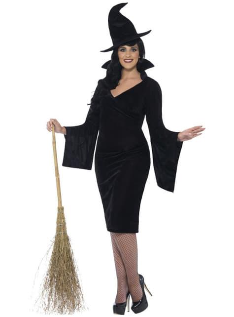 Hexe Kostüm für Damen Übergröße