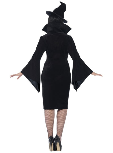 Womens Plus Size Charming Witch Costume