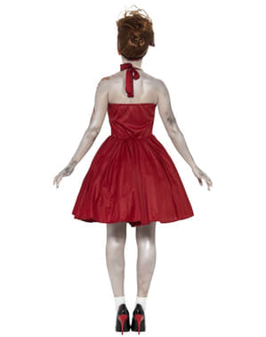 Womens Zombie Rockabilly Costume