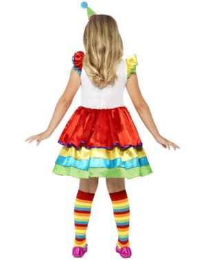 Djevojke zabavni kostim malog klauna