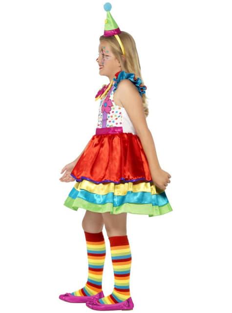 Disfraz de payasita divertida para niña - original