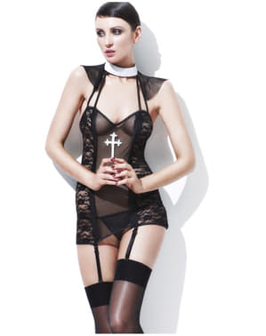 Nun Fever Lingerie Set