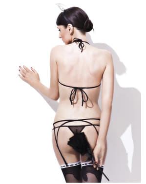 שירות חדרים תחתונה סקסית התלבושת