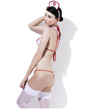 What the Doctor Ordered Nurse Fever Lingerie Outfit