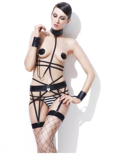 Sadomasochistic Prisoner Fever Lingerie Outfit