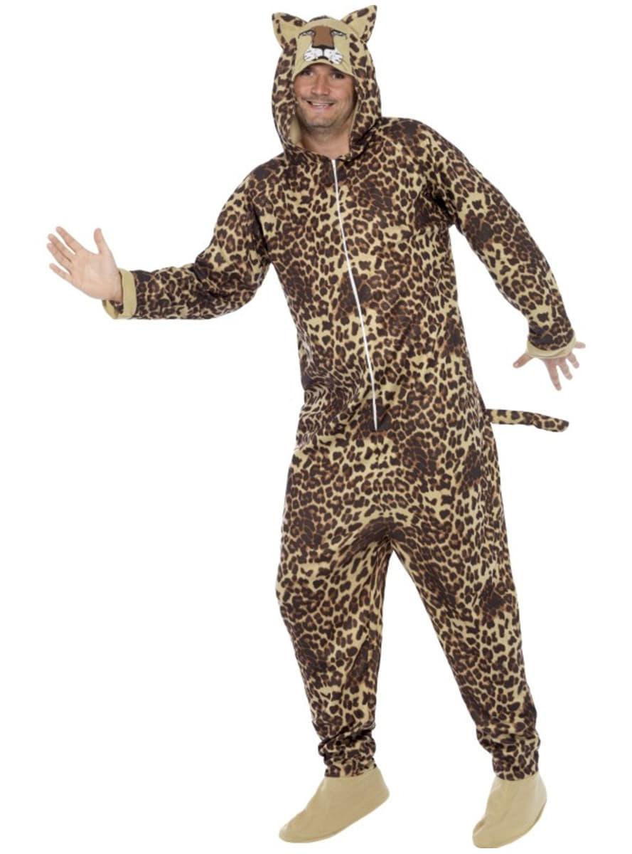 leopard kost m f r herren funidelia. Black Bedroom Furniture Sets. Home Design Ideas