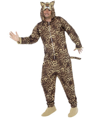 Leopard Maskeraddräkt Herr