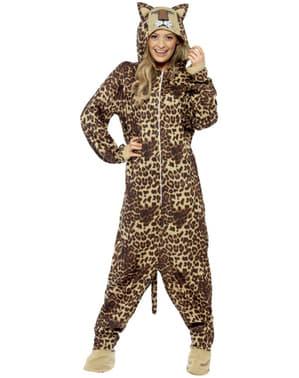 Leopard kostume til voksne