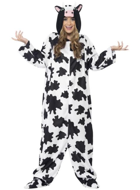Disfraz de vaca a la moda para hombre