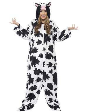 Costume da mucca alla moda da uomo