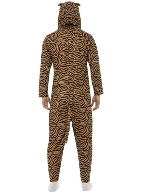 Disfraz de tigre onesie para adulto - original