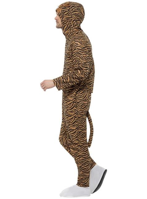 Disfraz de tigre onesie para adulto - traje