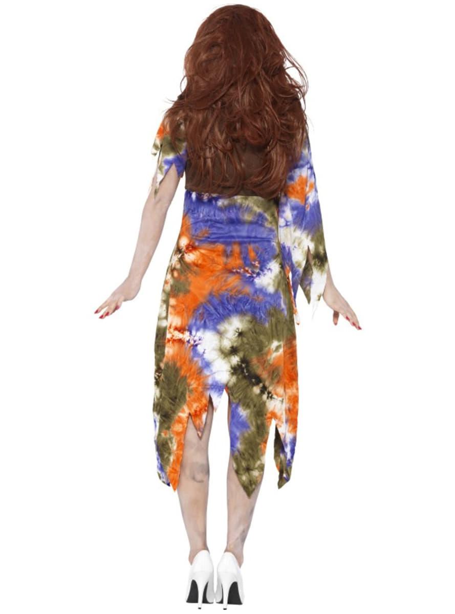 D guisement hippie zombie femme funidelia - Deguisement zombie femme ...