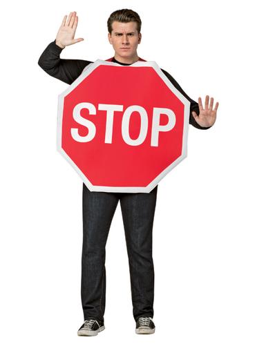 disfraz de se al de stop para hombre funidelia